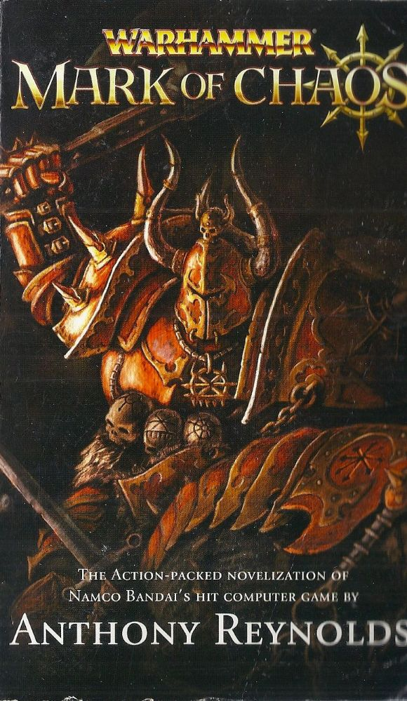 Mark Of Chaos By Anthony Reynolds Warhammer Fantasy Book